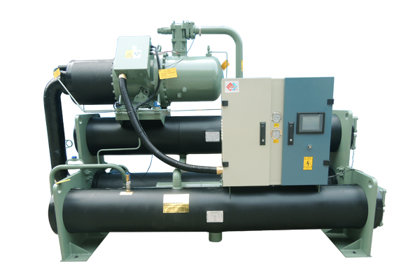 Flooded and Screw Type water source heat pump unit